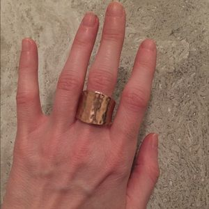 faux gold ring